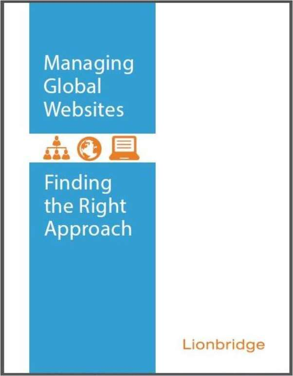 Managing Global Websites -- Finding the Right Approach