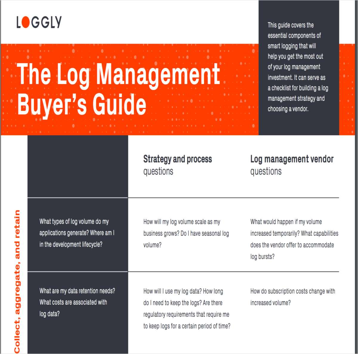 Buyers Guide To Log Management Software - What to ask (Download the guide and get a FREE product demo)