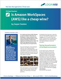 Is Amazon WorkSpaces Like a Cheap Wine?