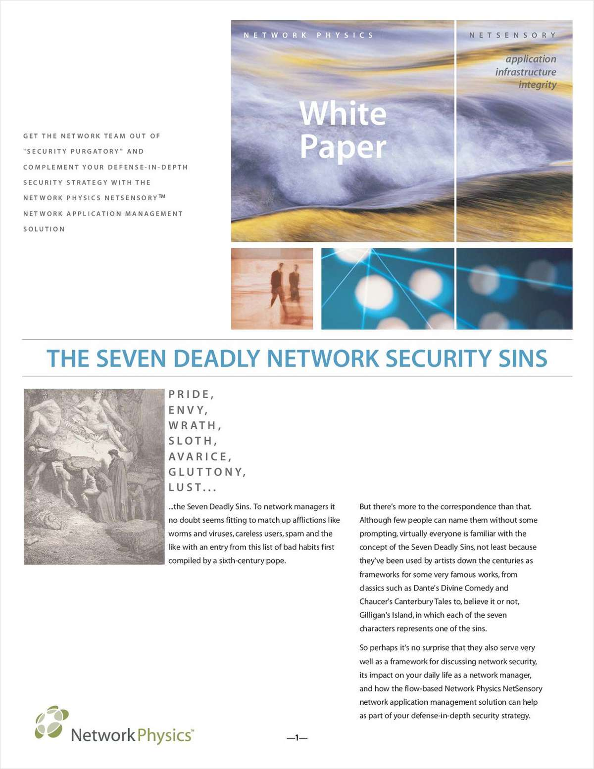 The Seven Deadly Network Security Sins: A How-to Guide for Protection