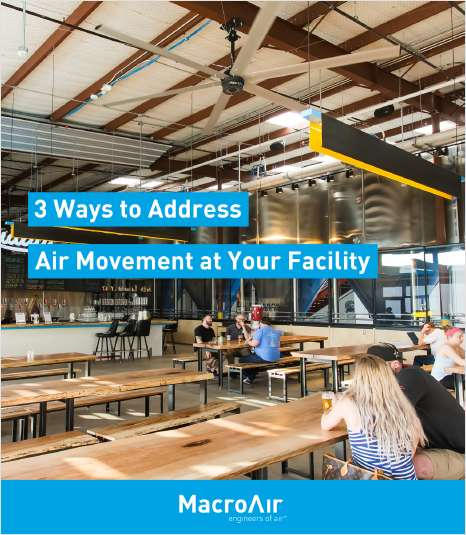 3 Ways to Address Air Movement at Your Facility