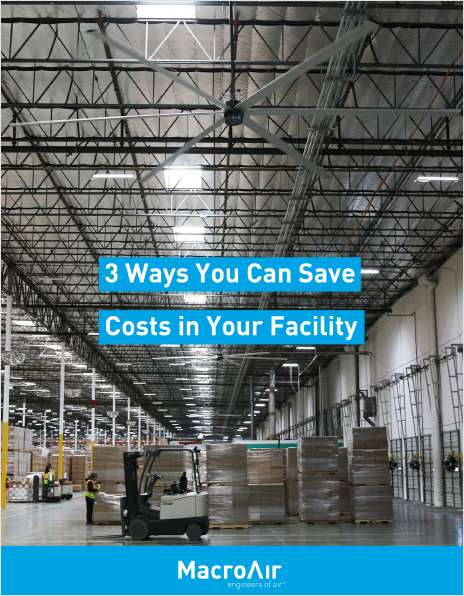 3 Major Ways You Can Save on Costs in Your Facility