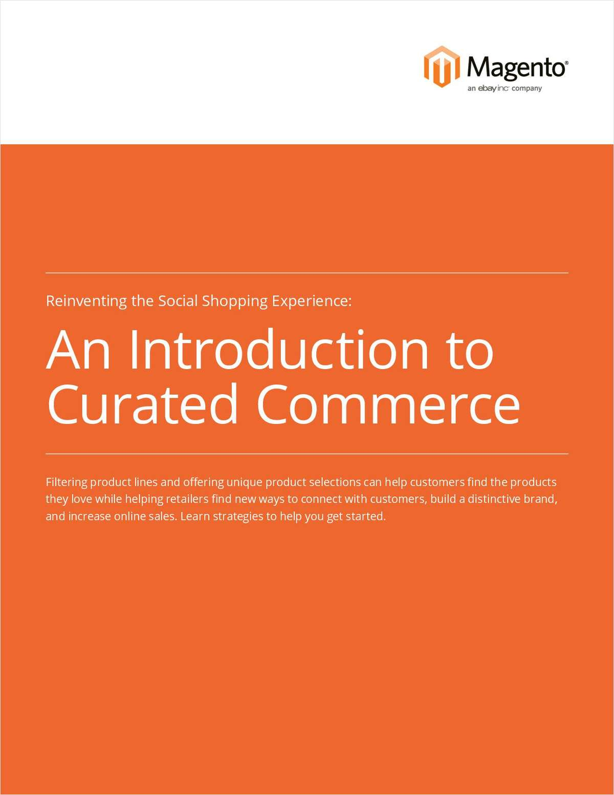 An Introduction to Curated Commerce
