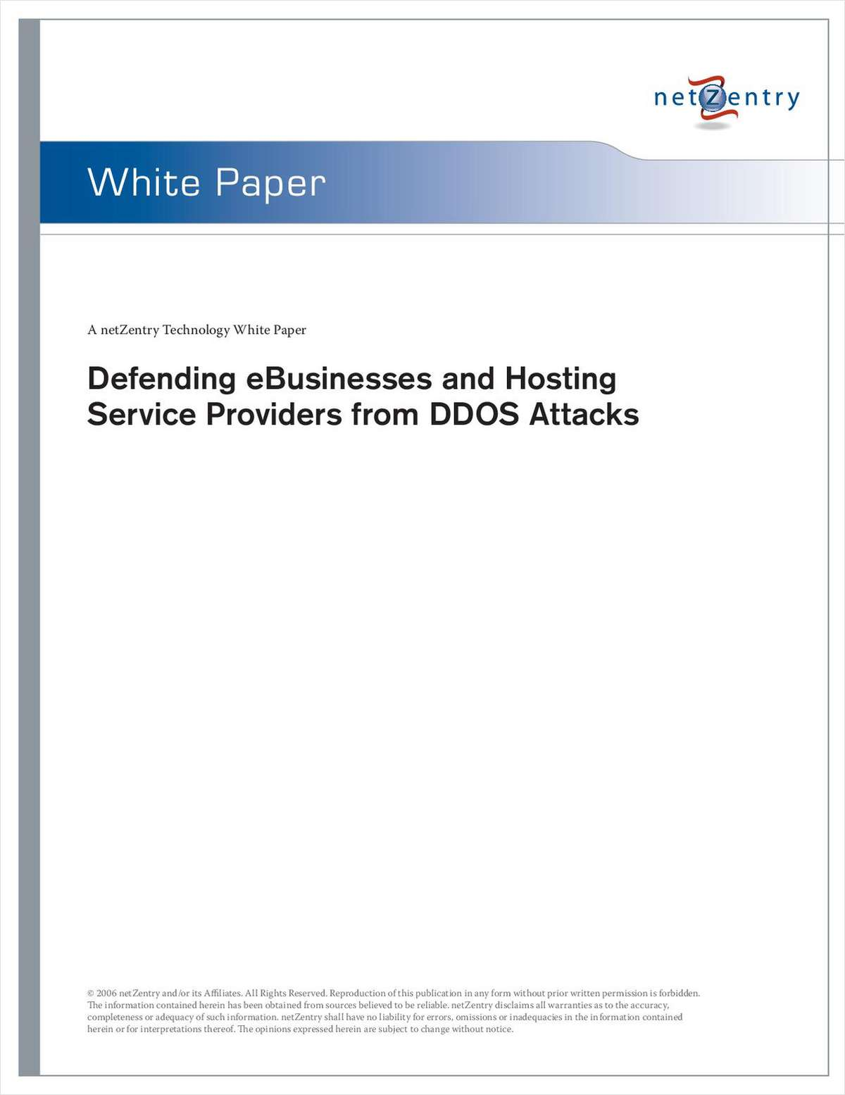 Protect your Servers from DDoS Attacks