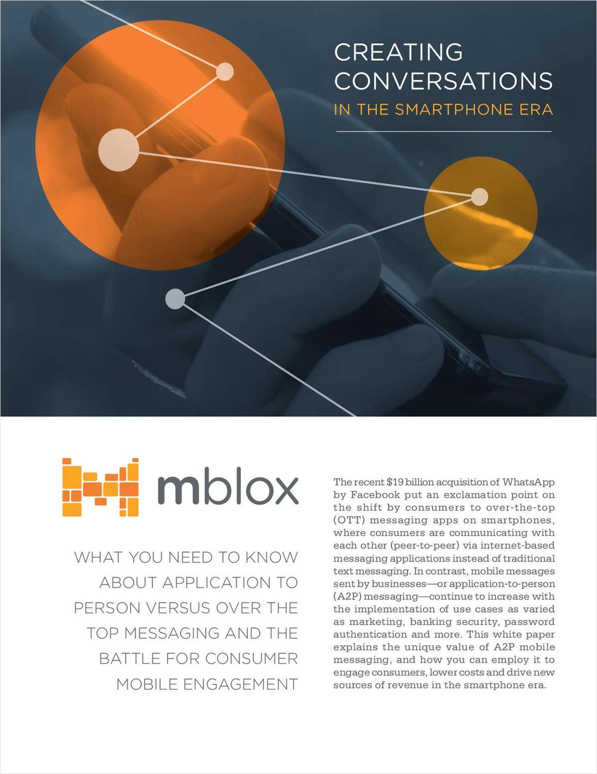 Free Guide: Creating Conversations in the Smartphone Era