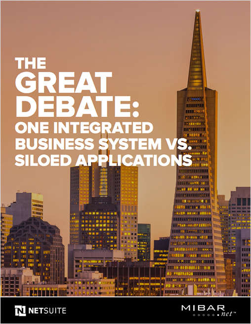 The Great Debate: One Integrated Business System vs. Siloed Applications