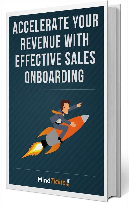 Accelerate Your Revenue With Effective Sales Onboarding