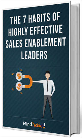 The 7 Habits of Effective Sales Enablement Leaders