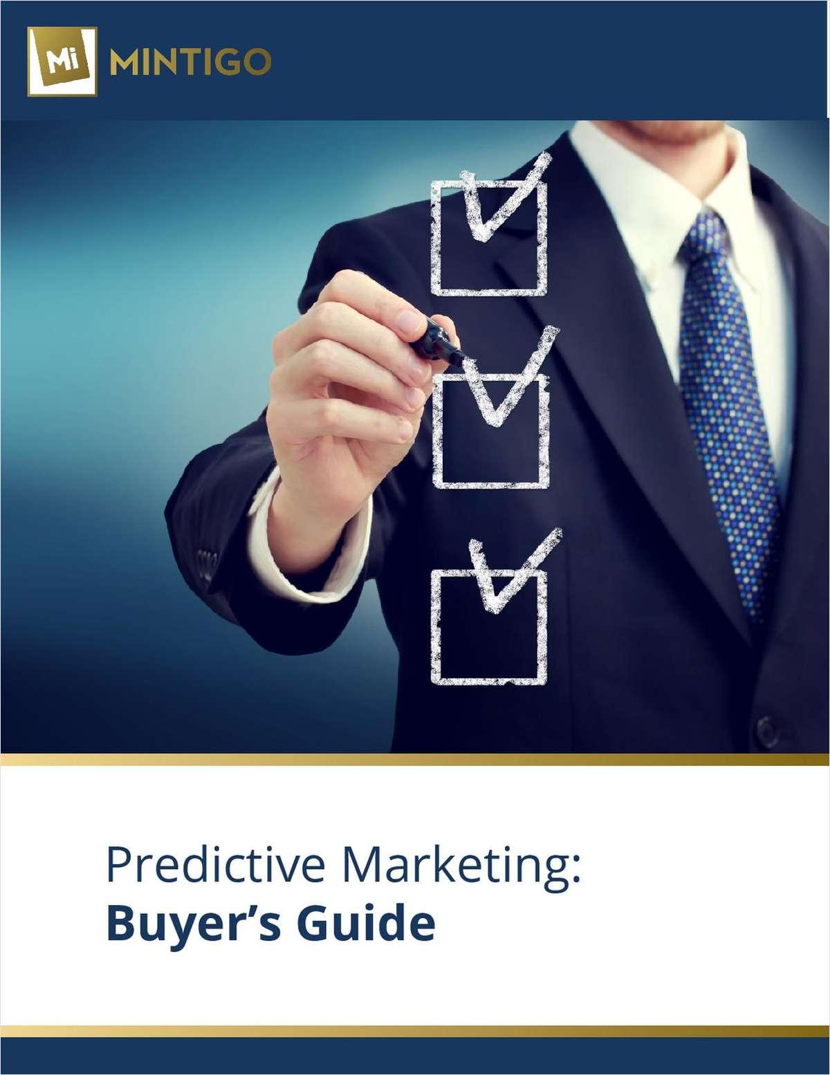 Predictive Marketing Buyer's Guide