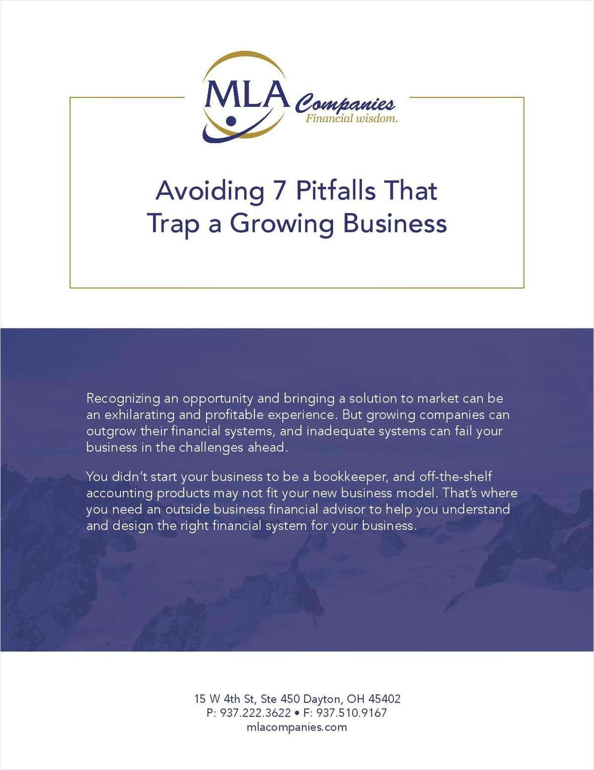 Avoiding 7 Pitfalls That Trap a Growing Business