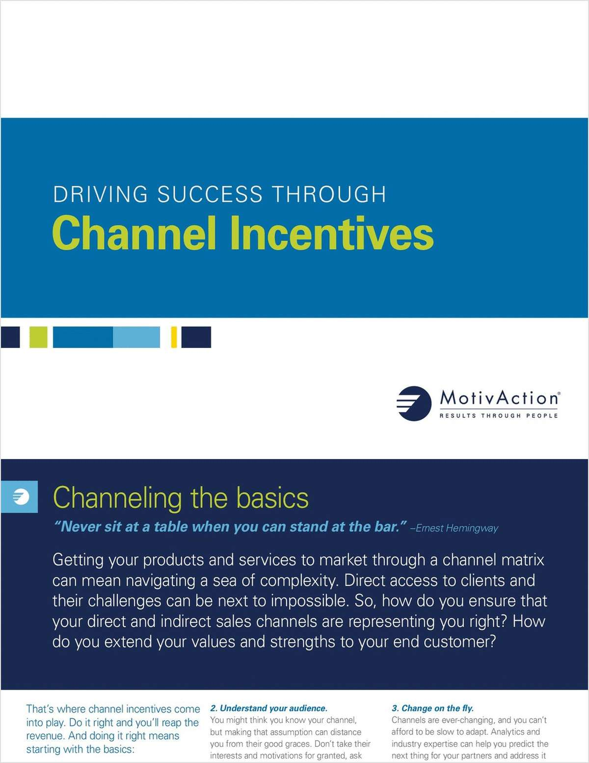 Driving Success Through Channel Incentives