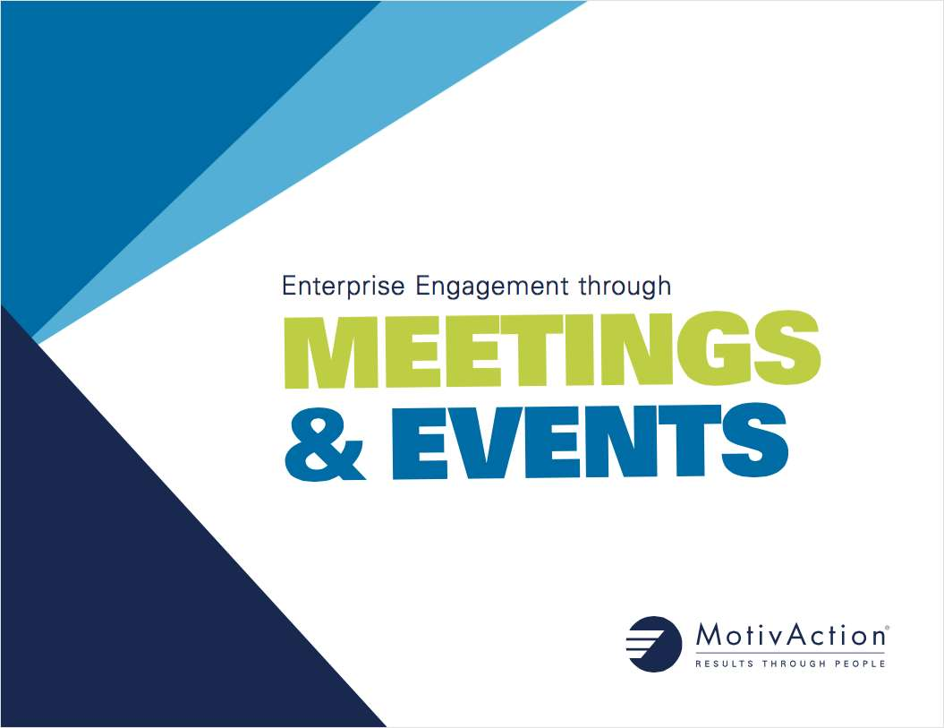 A Simple Guide to Meetings & Events