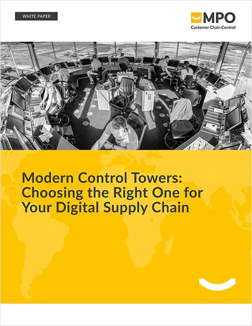 Modern Control Towers: Choosing the Right One for Your Digital Supply Chain