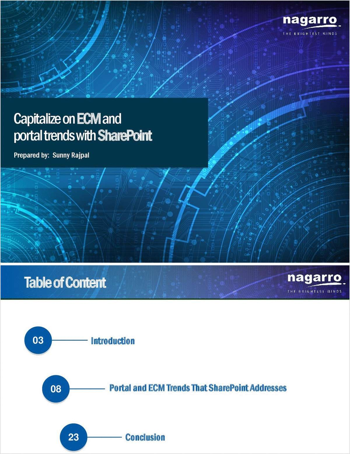 Capitalize on ECM and Portal trends with SharePoint