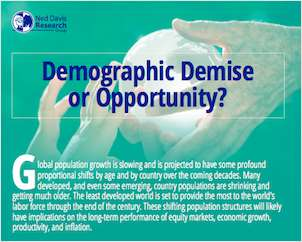 Demographics Demise or Opportunity?