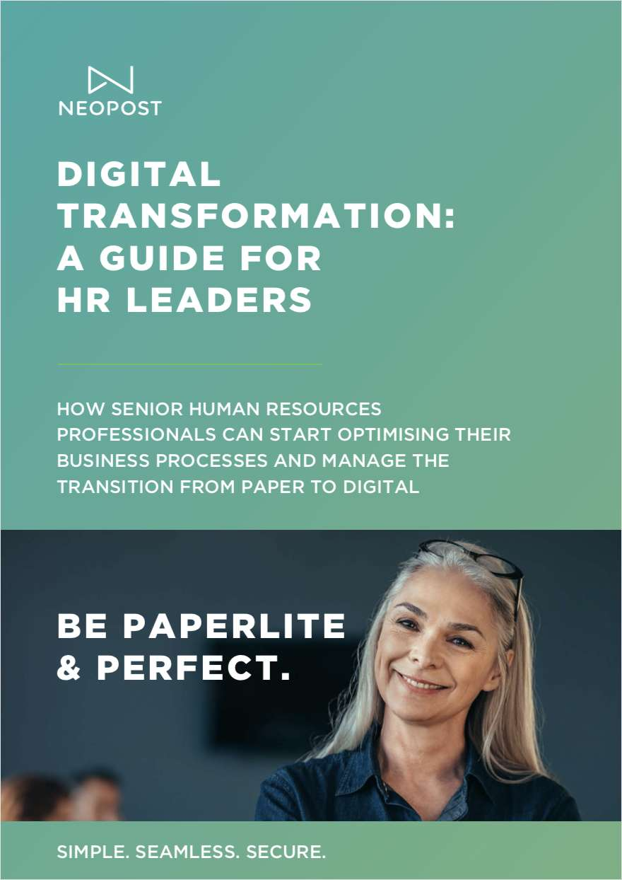 Human Resources: How to Optimise Business Processes and Transition from Paper to Digital