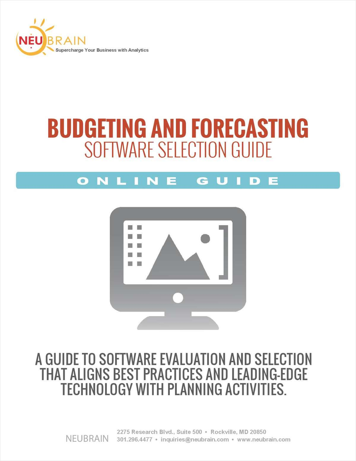 Budgeting and Forecasting Software Evaluation Guide