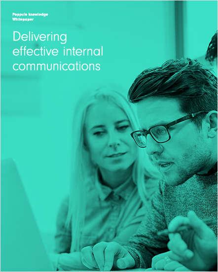 Delivering Effective Internal Communications