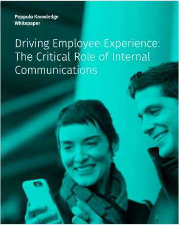 Driving Employee Experience: The Critical Role of Internal Communications