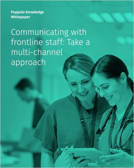 Communicating with frontline staff: take a multi-channel approach
