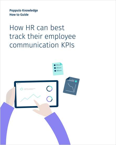 How HR can best track their employee communication KPIs
