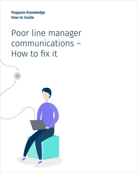 Poor line manager communications -- how to fix it