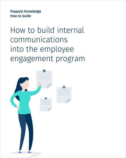How to build internal communications into the employee engagement program