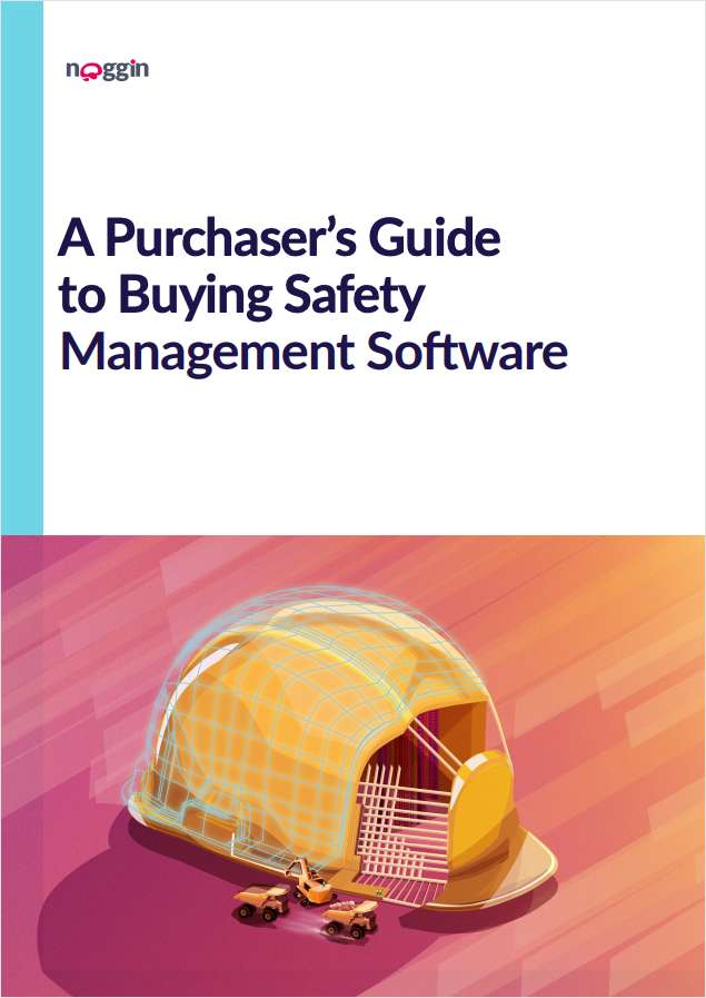A Buyer's Guide to Environmental, Health & Safety (EHS) Management Software