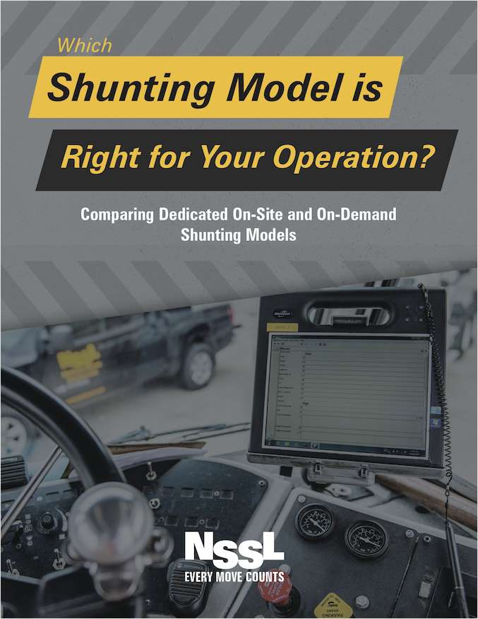 Which Spotting / Shunting Model is Right for Your Yard Operation?