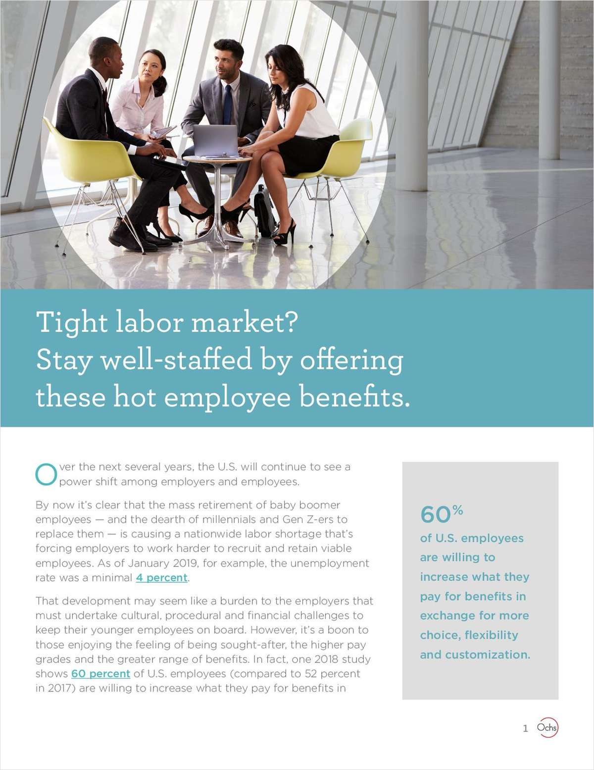 Tight Labor Market? Stay Well-Staffed by Offering These Hot Employee Benefits