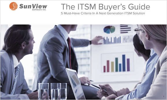 The ITSM Buyer's Guide