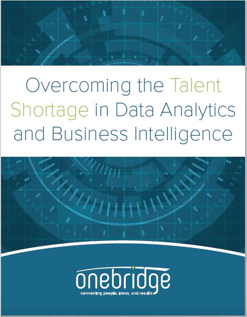 Overcoming the Talent Shortage in Data Analytics and Business Intelligence