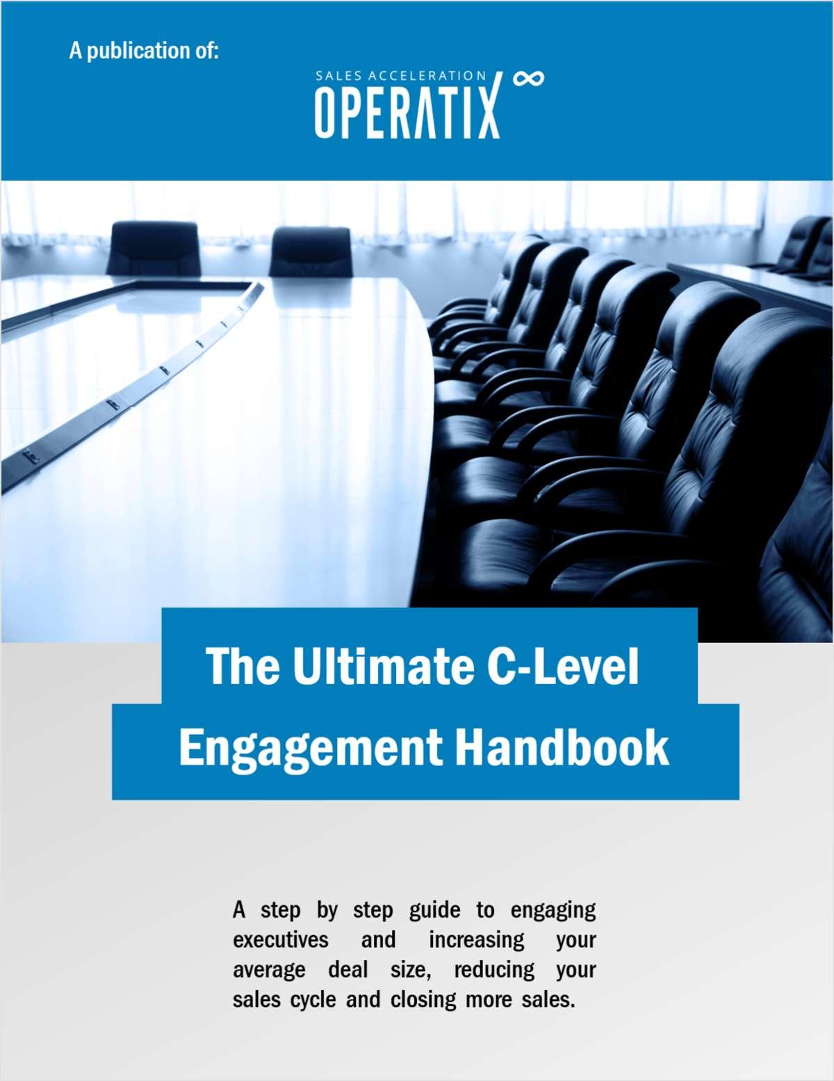 The Ultimate C-level Engagement Handbook
