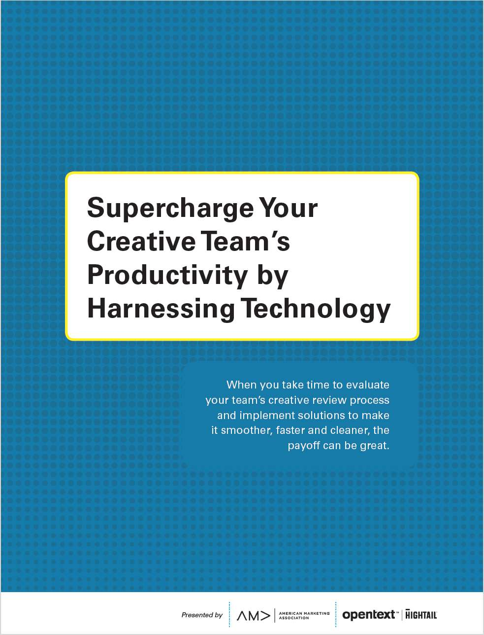 How to supercharge creative productivity by harnessing technology