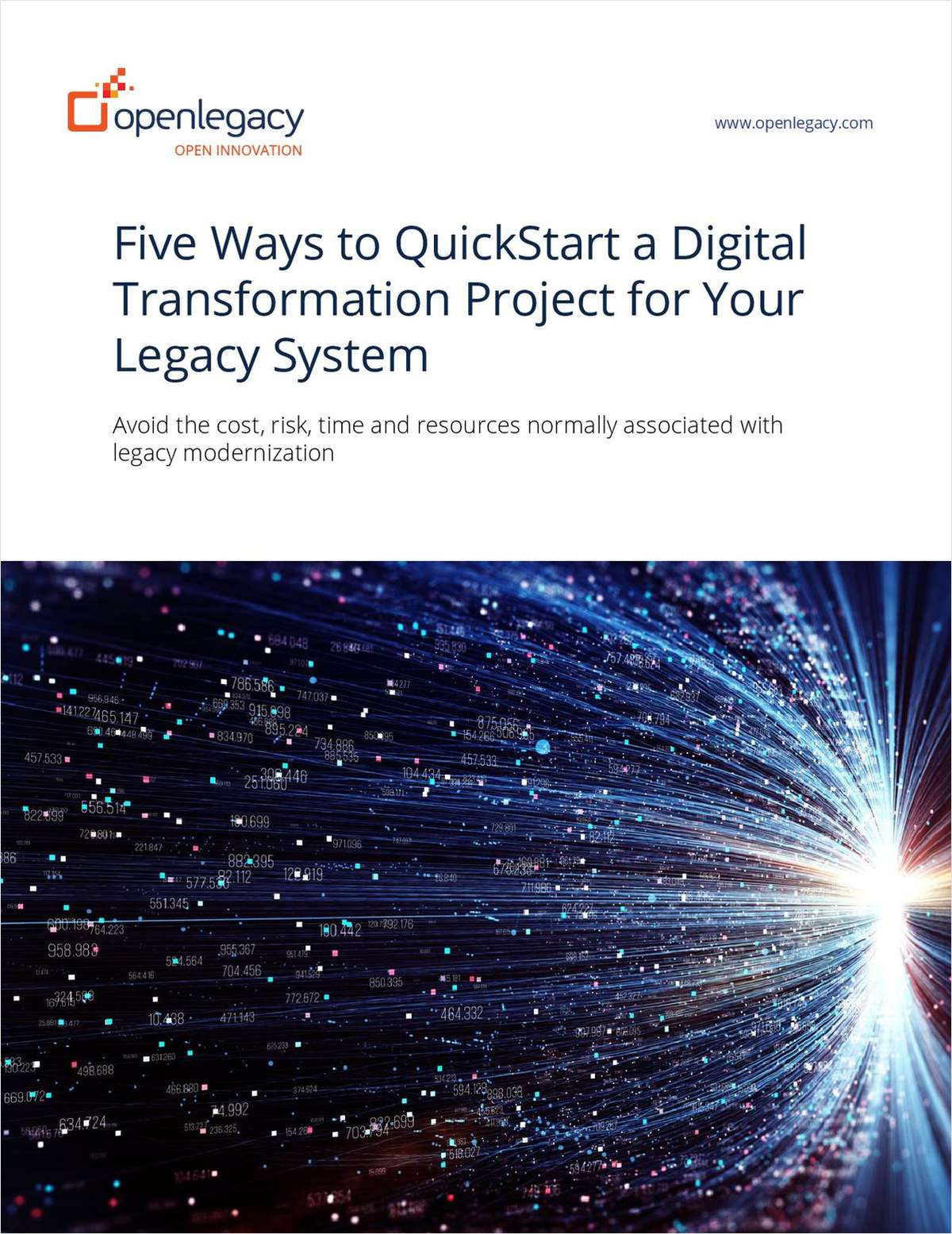 Five Ways to QuickStart a Digital Transformation Project for Your Legacy System