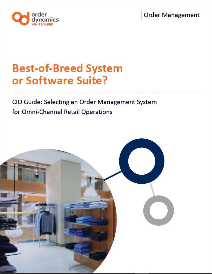 CIO Guide: Best-of-Breed  Retail Order Management