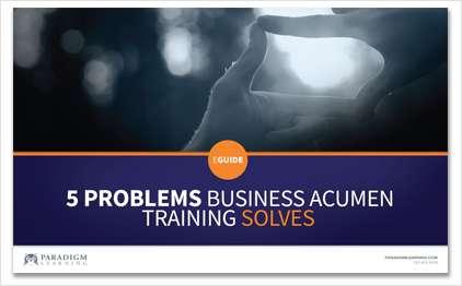 5 Problems Business Acumen Solves
