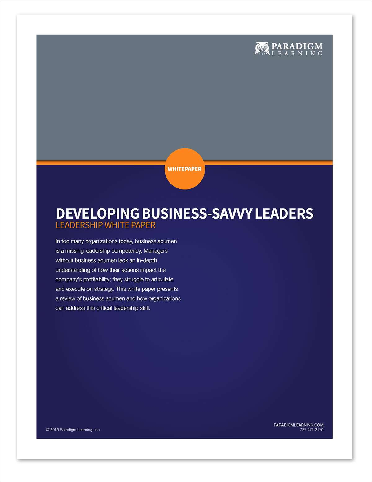 Developing Business-Savvy Leaders