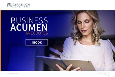 Business Acumen Anecdotes eBook