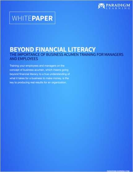 Beyond Financial Acumen