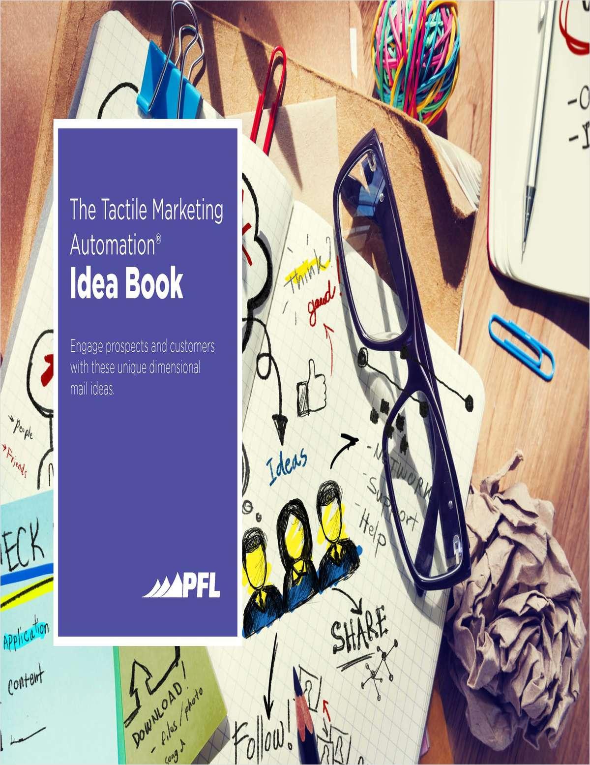 Tactile Marketing Idea Book