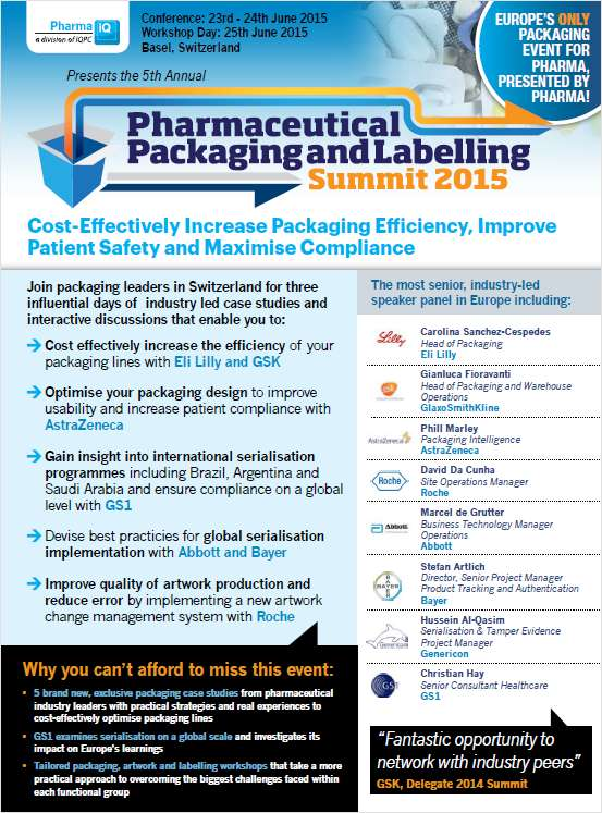 How to Streamline Packaging Processes, Increase Patient Safety and Ensure Compliance