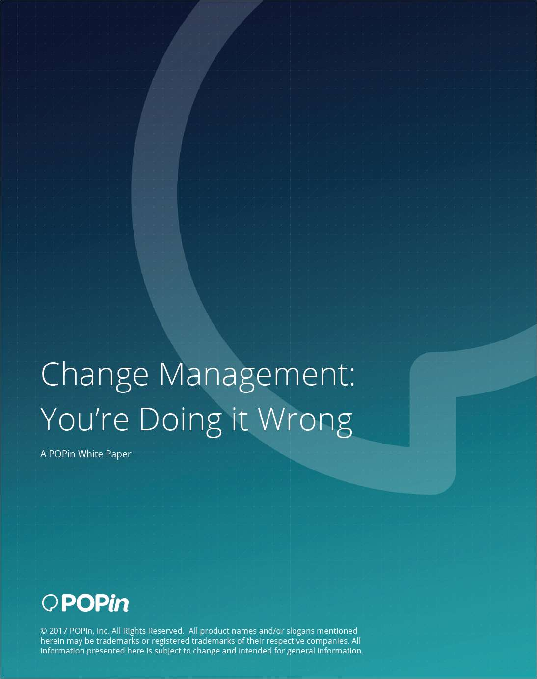 Make Your Project Succeed with Strong Change Management
