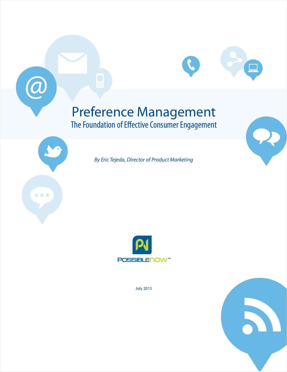 Preference Management: The Foundation of Effective Consumer Engagement