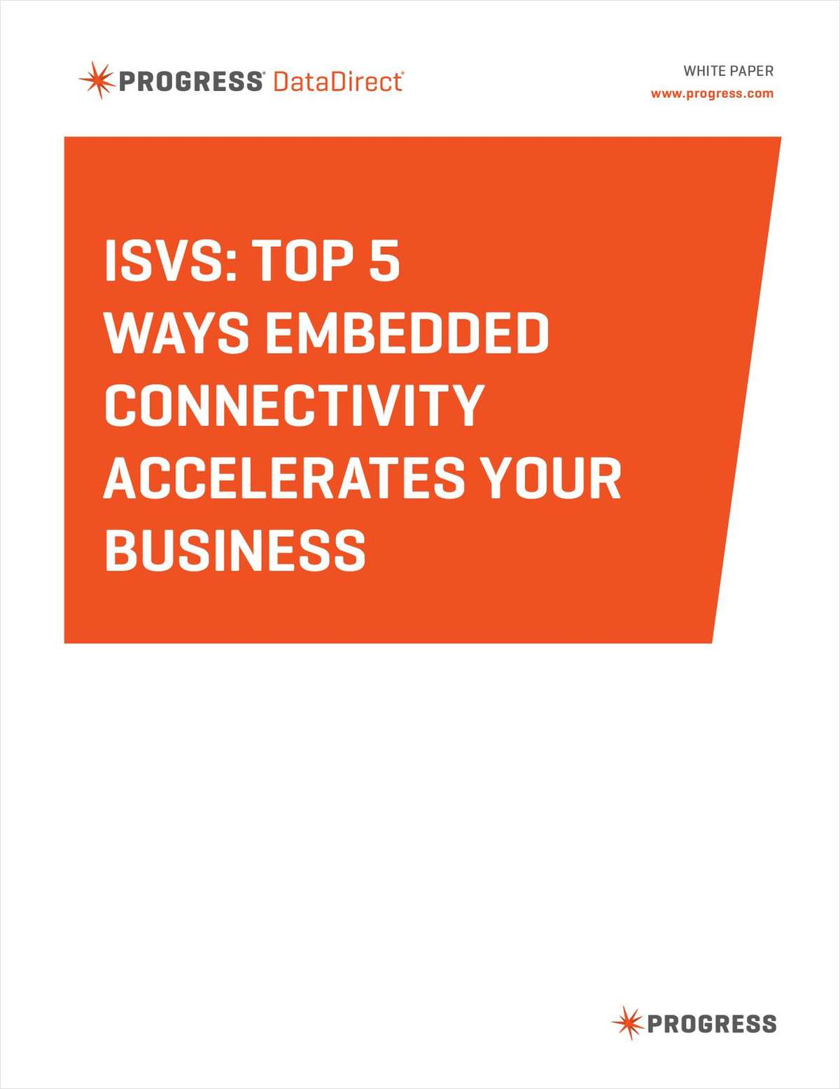 ISVs: Top 5 Ways Embedded Connectivity Accelerates Your Business