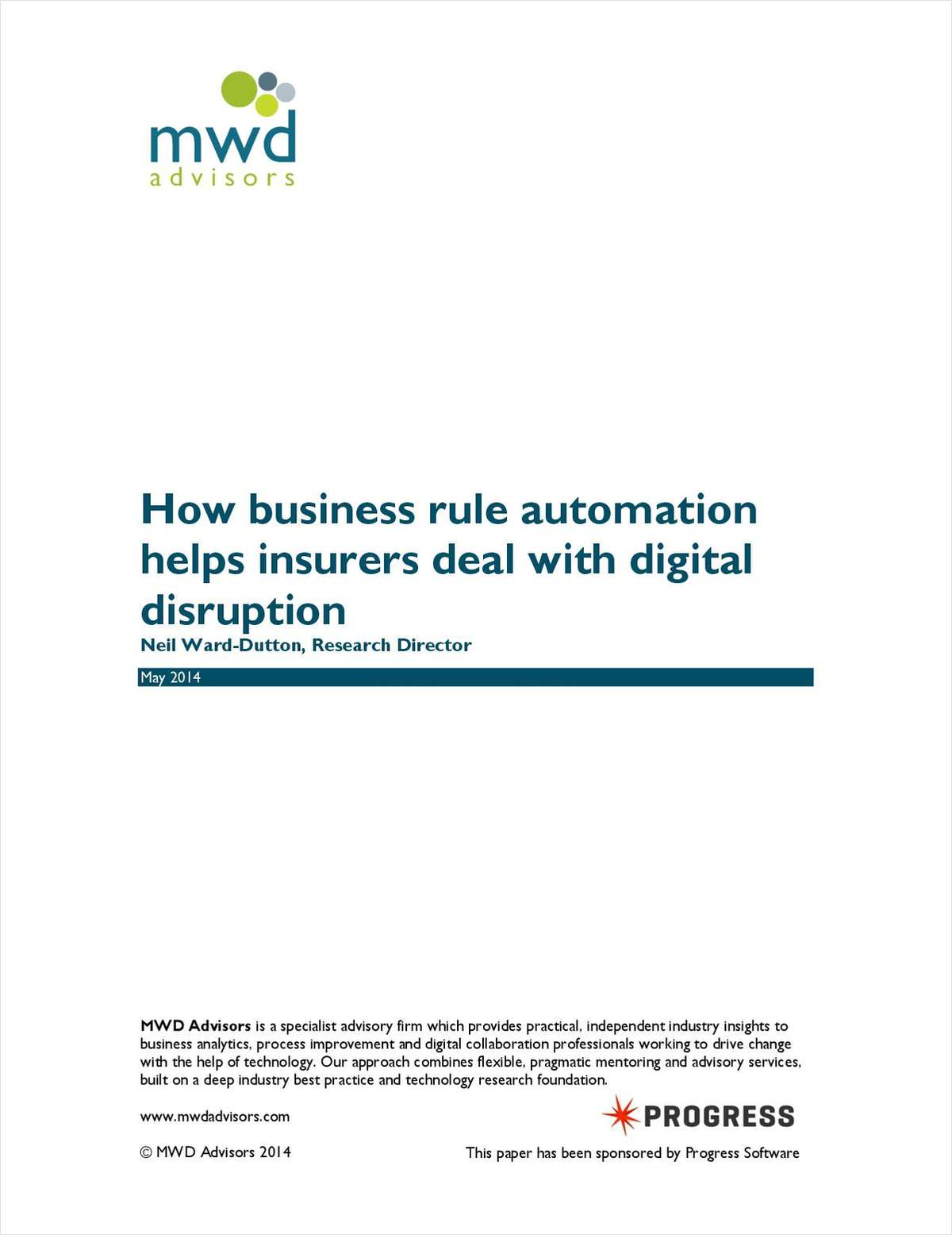 How Business Rule Automation Helps Insurers Deal with Digital Disruption