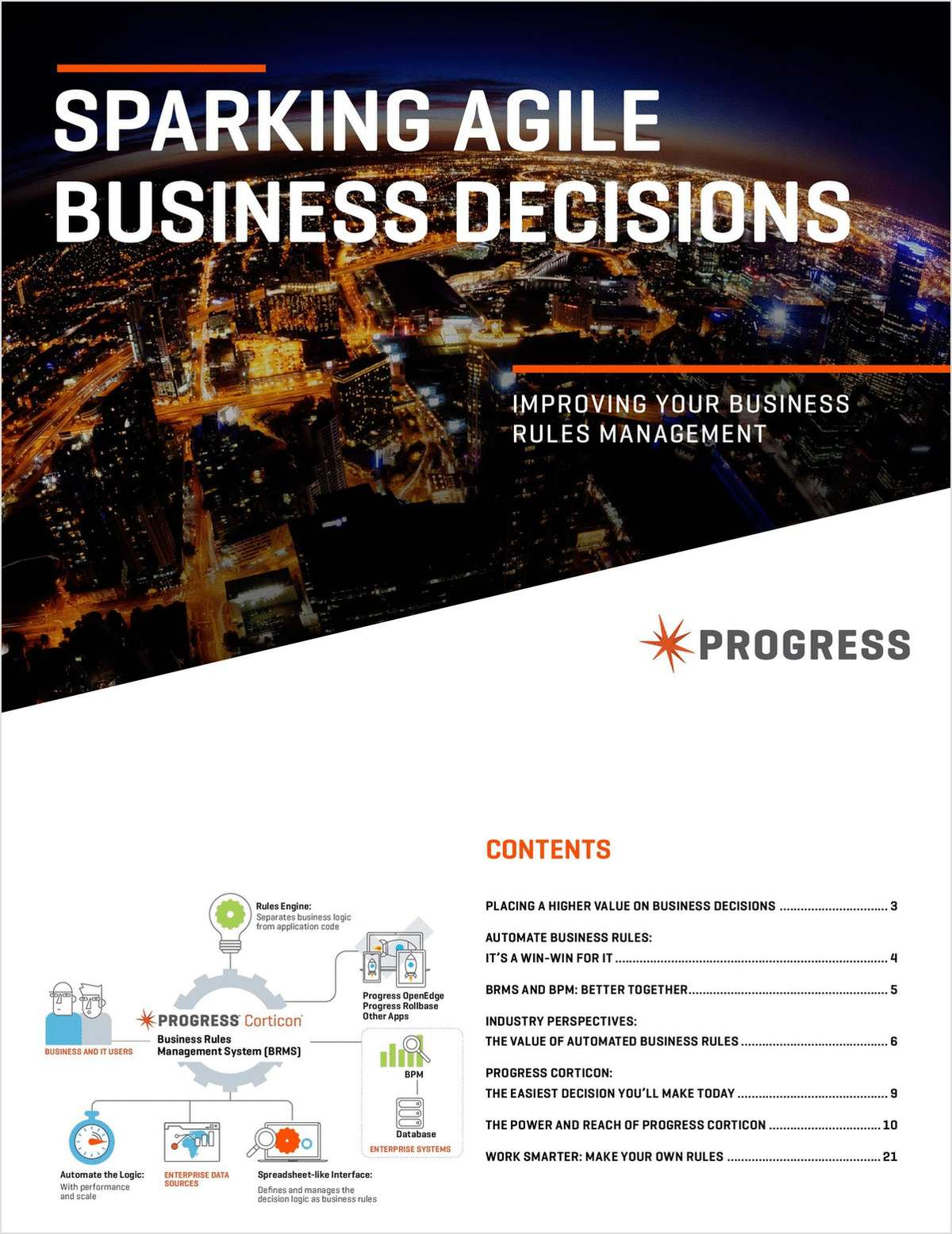 Sparking Agile Business Decisions Improving your Business Rules Management