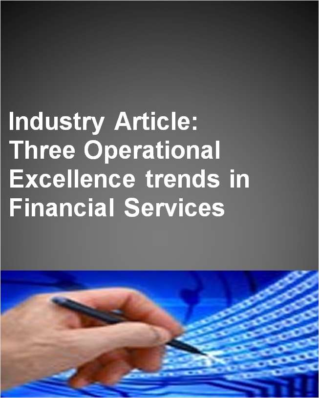 Three interesting OpEx trends in financial services