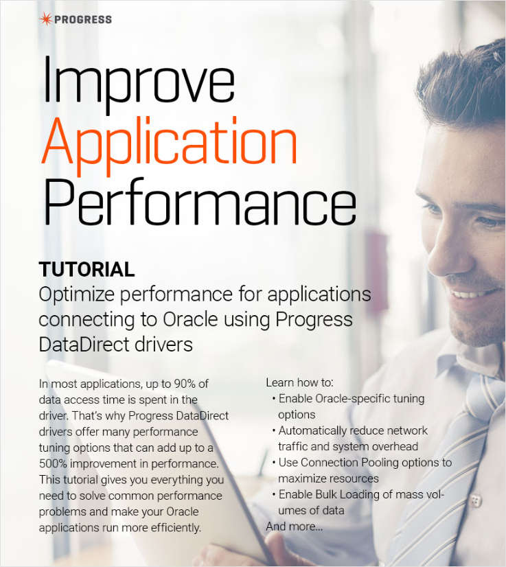 Tutorial: Turbo-Charge Application Performance to Oracle
