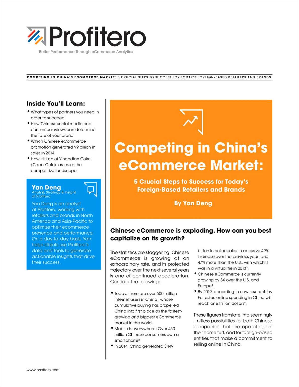 Competing in China's eCommerce Market